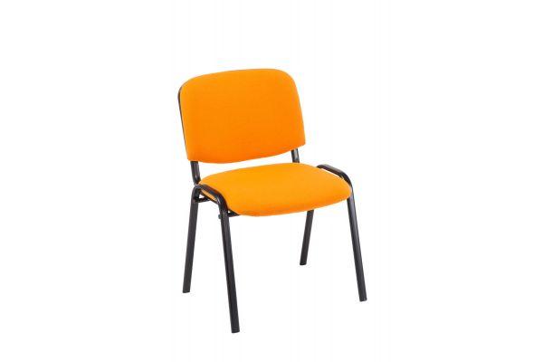 Besucherstuhl Ken Stoff orange