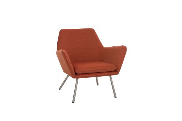 Caracas Lounger STOFF orange