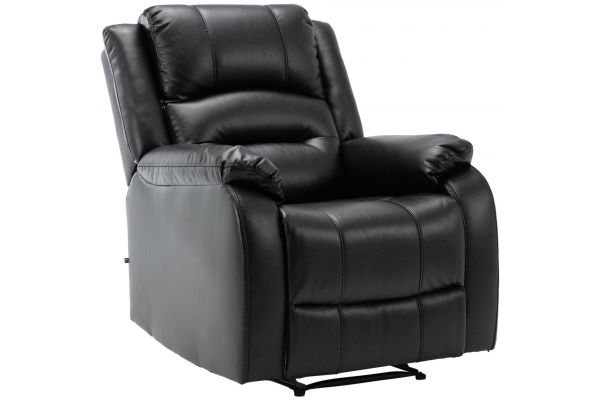 Sessel Kerpen Echtleder schwarz
