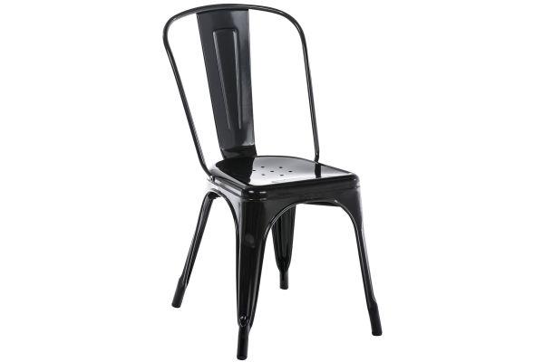 Stapelbarer Metall Stuhl Benedikt