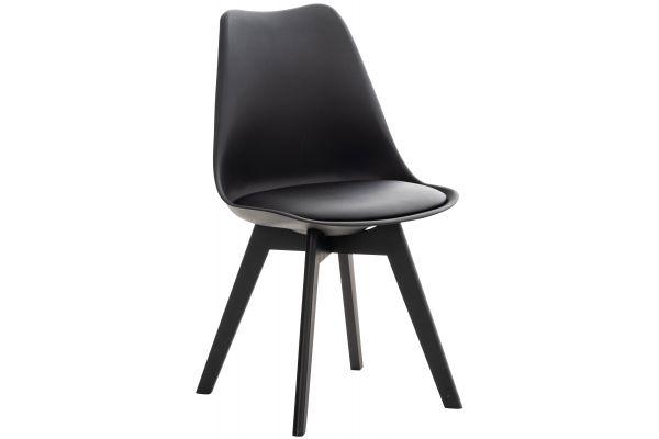 Stuhl Linares schwarz/schwarz