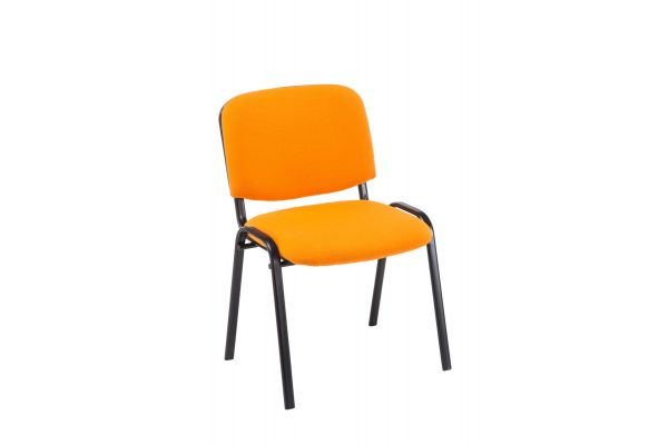 Besucherstuhl Ken Stoff orange